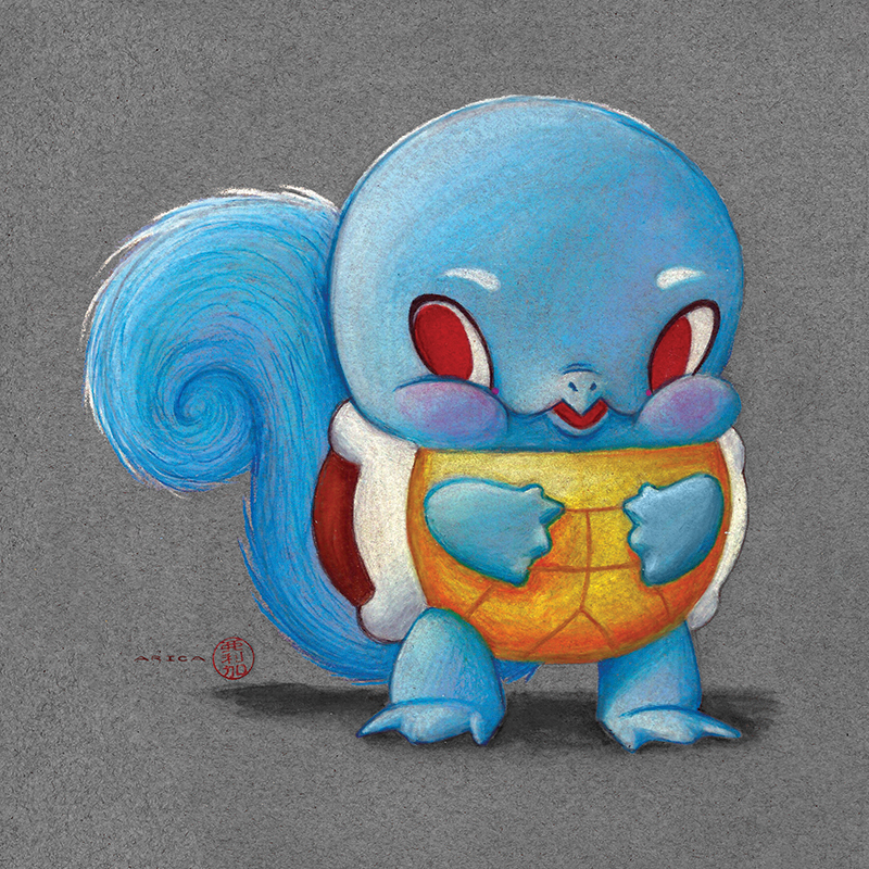 Squirtle by AricaTuesday