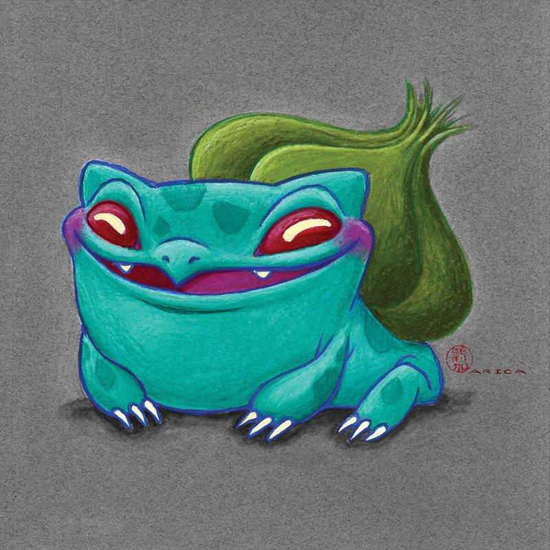 Bulbasaur by AricaTuesday