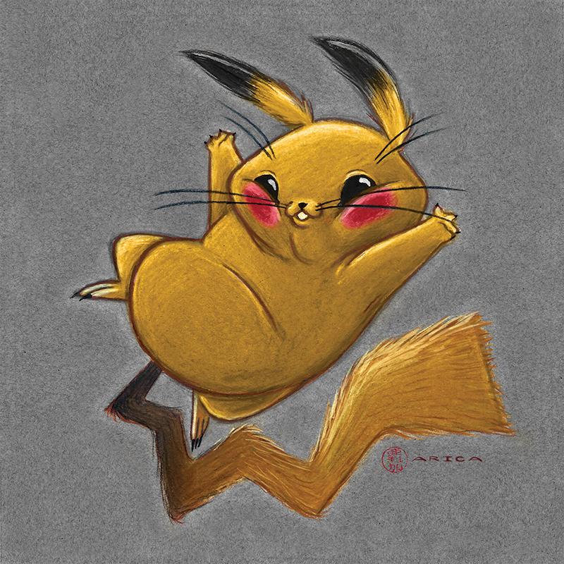 Pikachu by AricaTuesday