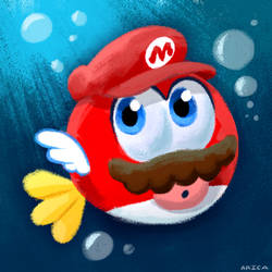 CheepCheep Mario
