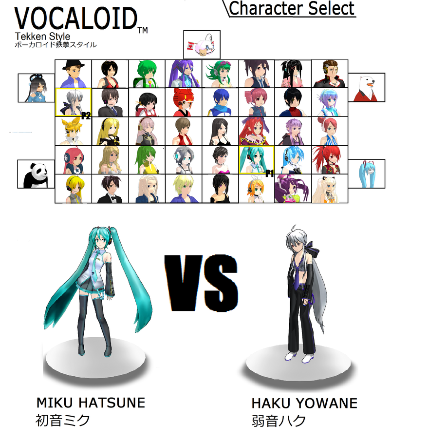 VOCALOID: THE VIDEO GAME by MotherMetroid