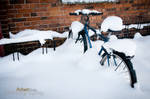 Cold Bike by Robbanmurray