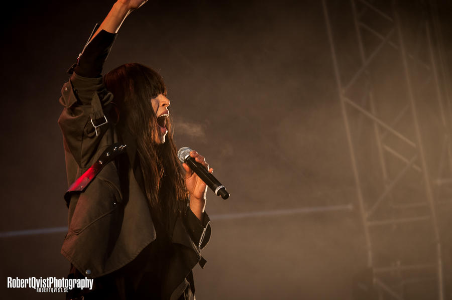 Loreen live with Symphony with Stars by Robbanmurray