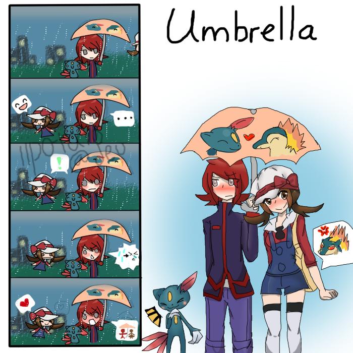 soulsilvershipping umbrella big vers by iipotato on