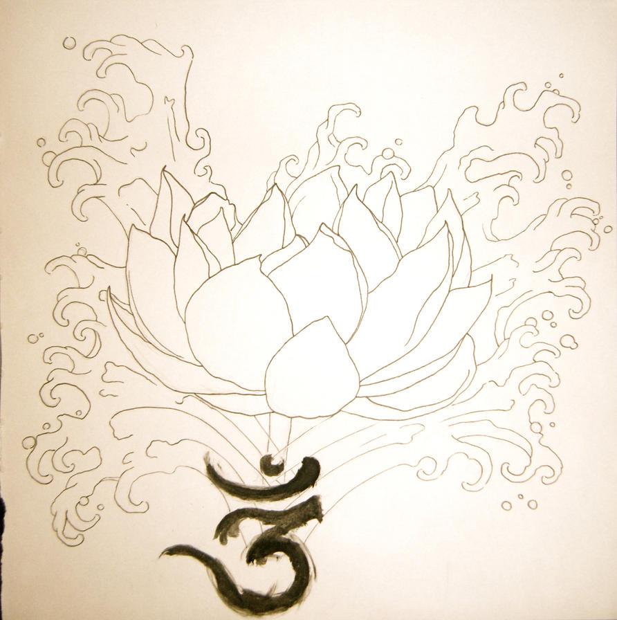 LOTUS. - flower tattoo