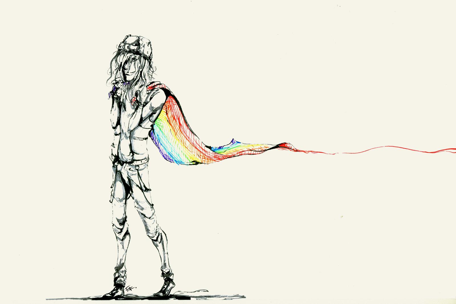 Rainbow Flag Png Rainbow Flag by Wyum