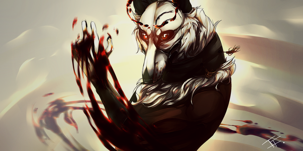god of blood by wyum