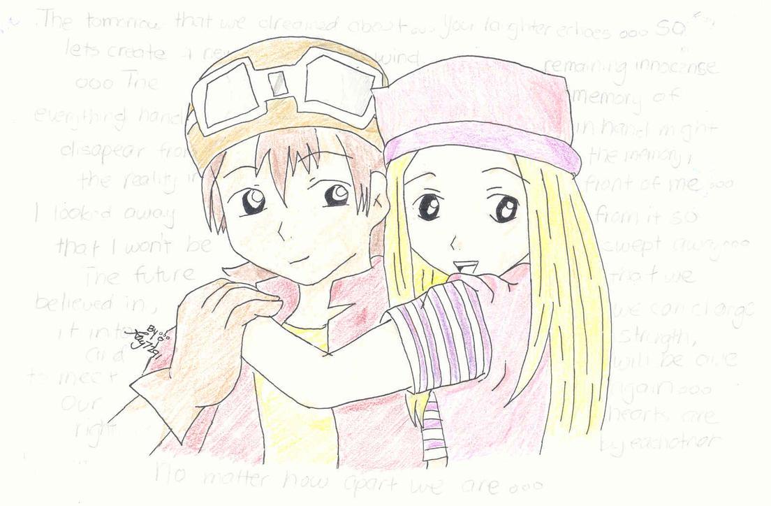 Takumi-Takuya and Izumi by kay7291