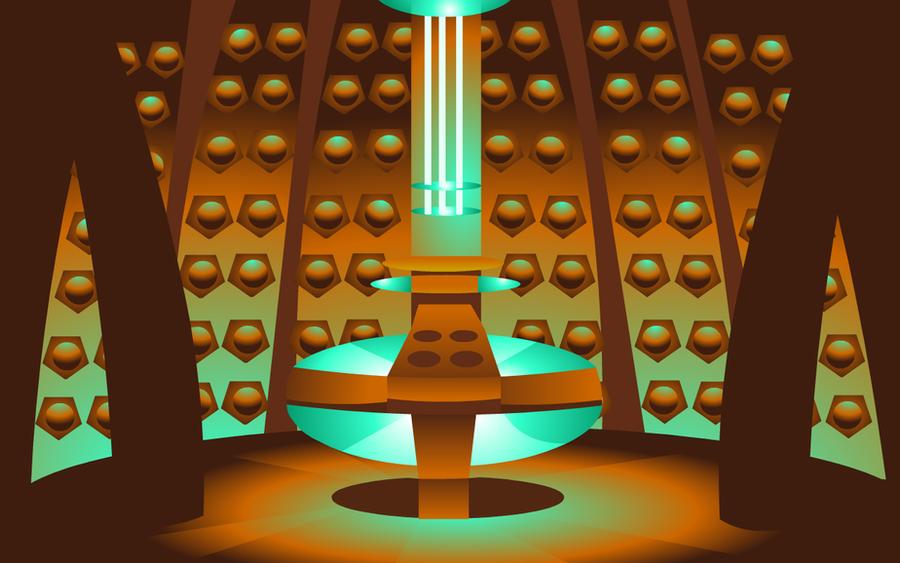 Dr Who Inside Tardis Wallpaper