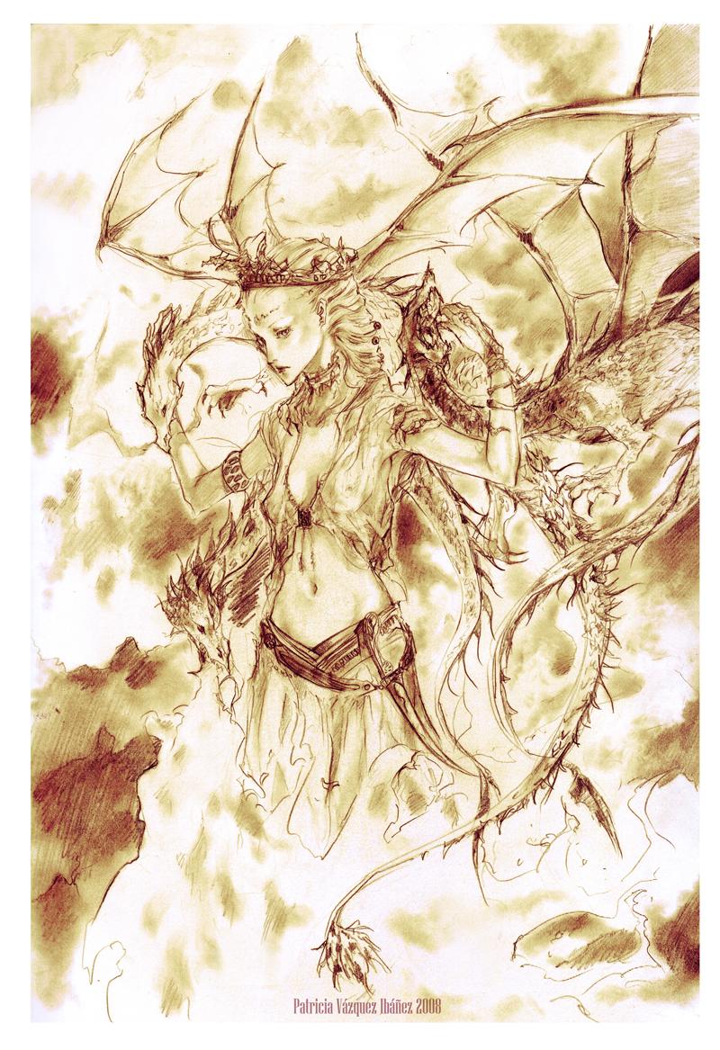 Dance with Dragons Daenerys by 0KiWi0