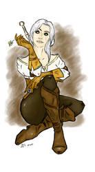 Witcher 3. Cirilla.