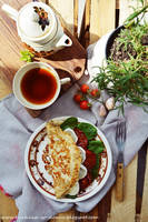 Breakfast in August by SunnySpring