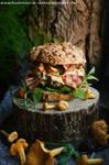 Fall burger by SunnySpring