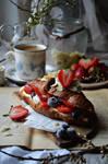 Croissant sweet pleasures