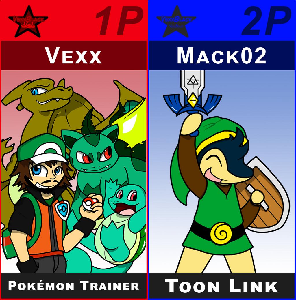 SSB Vexx Trainer and Toon Mack