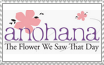 Anohana the flower we saw that day anime logo by xXCrazyBunnyXx
