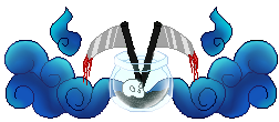 Death Themed Pixel Border by xXCrazyBunnyXx