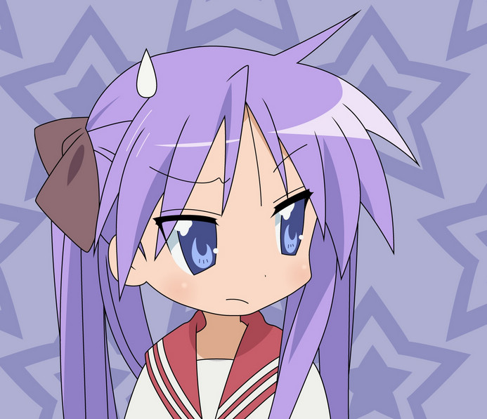 LUCKY STAR: kagami hiiragi by minseuko11 on DeviantArt