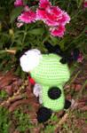 Dog Suit Gir 2 - crochet doll
