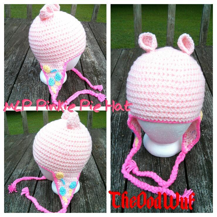 Pinkie Pie hat by Kira-Kat