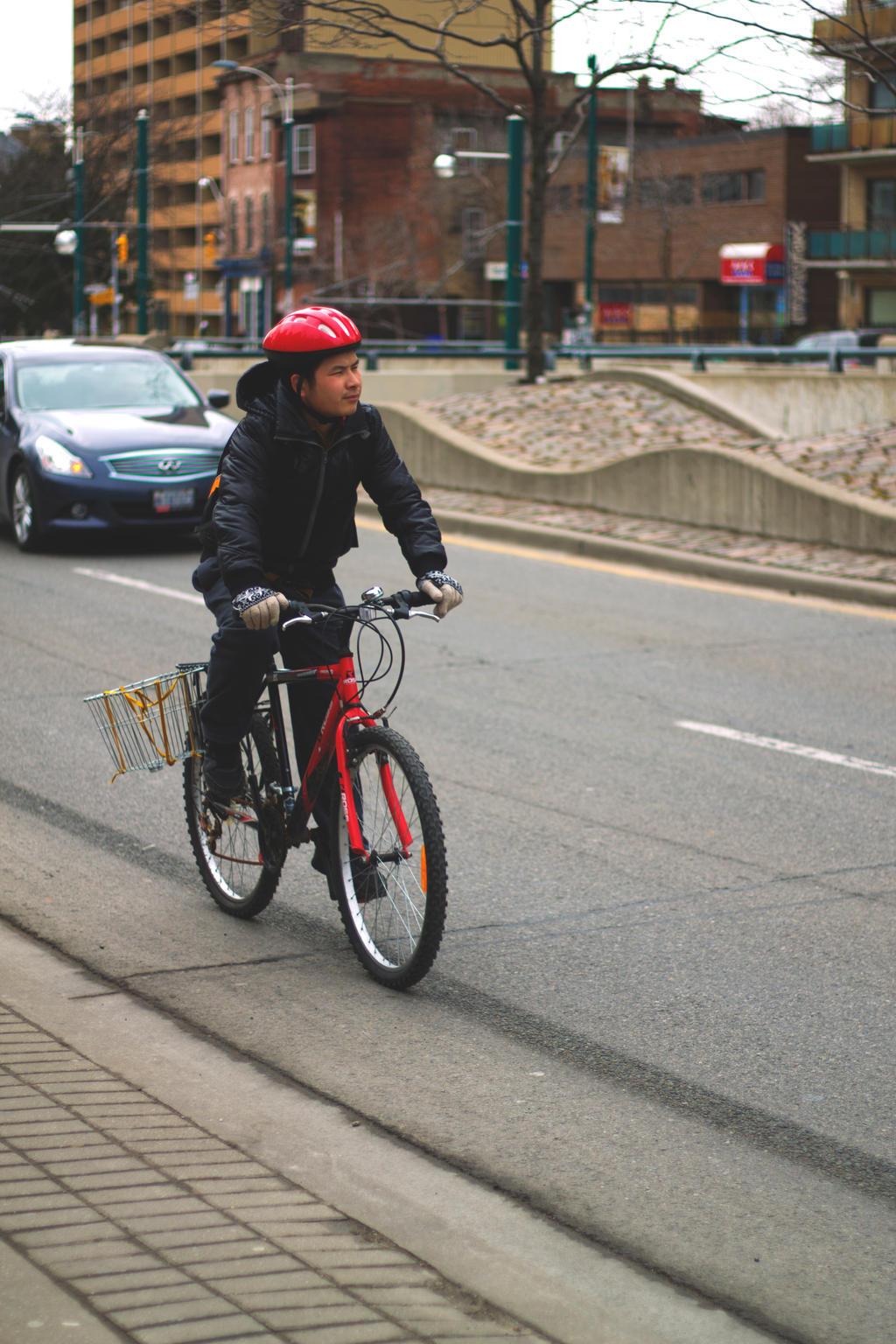 Cyclist 1 by adriengnotpiy