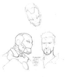 Ironman Pencils by DejaRico