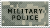 Military Police Stamp