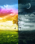 Day And Night by amebleu