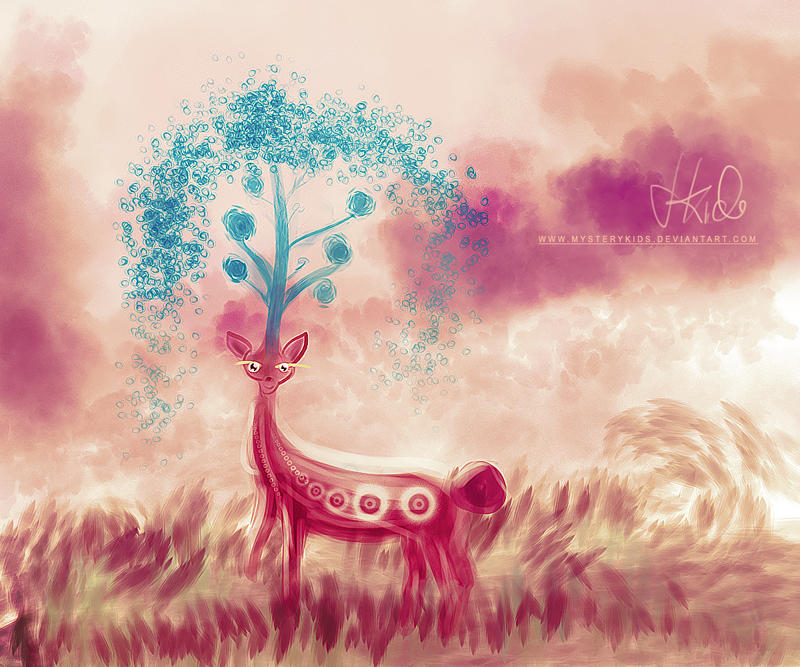 Spring Deer by ChieuMua