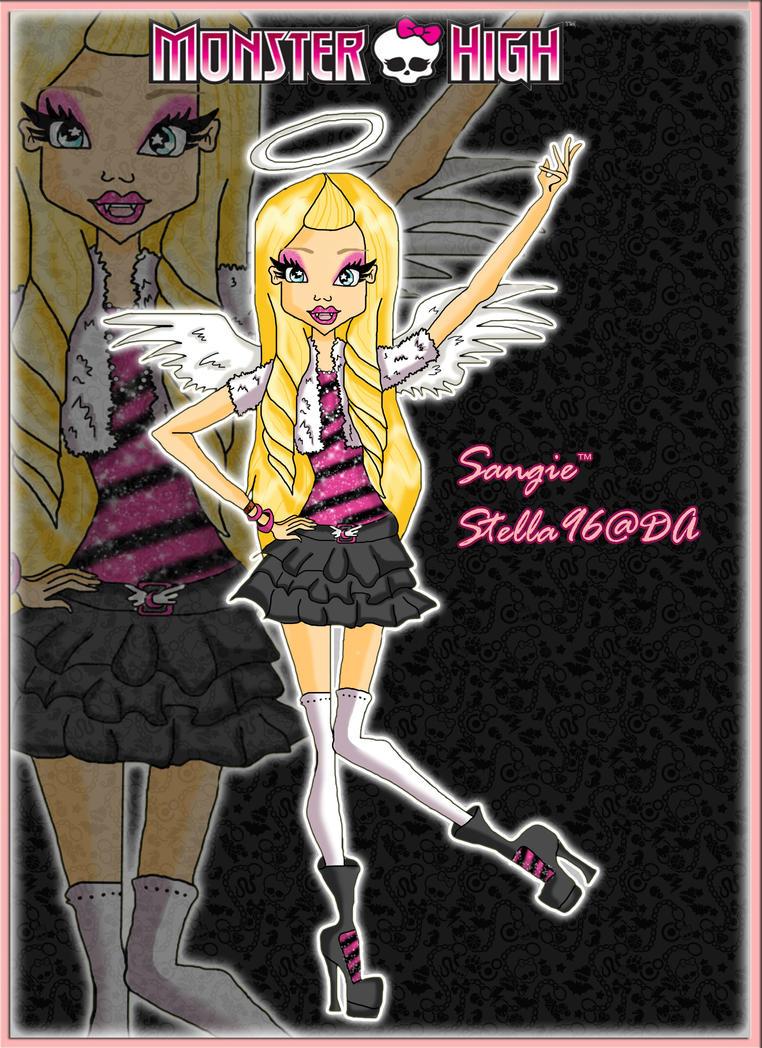 Sangie Monster High Profile by itsmejovan