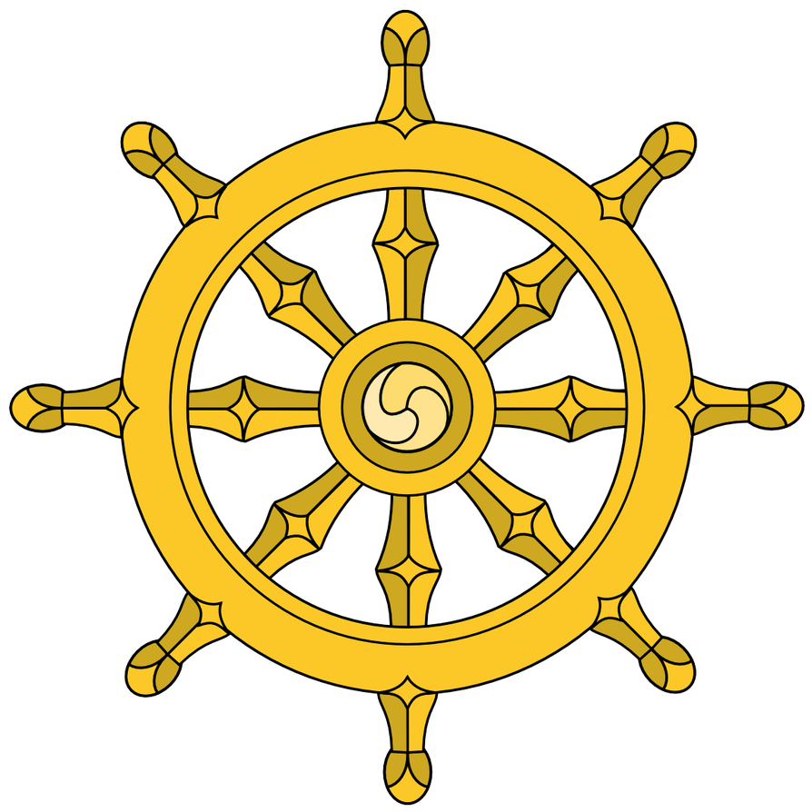 Dharma Chakra by PadmaPhala
