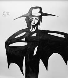inktober 21 Vampire Hunter D by PadmaPhala