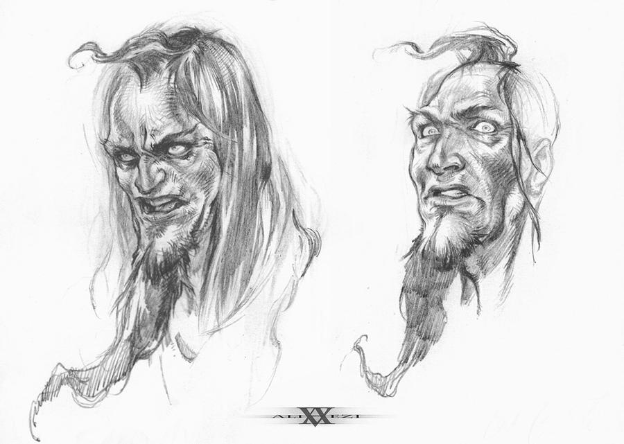 Zahak face by vaezi
