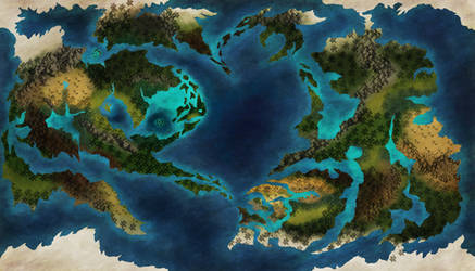 Kelusia World Map 3.0 (WBW 30) by Shadow-Hyder