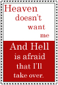 Heaven and Hell Stamp by Awakening-Death
