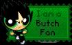 Butch Fan Stamp by BunnyBeryl