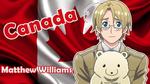 [APH] Canada (Matthew Williams) Wallpaper by BunnyBeryl
