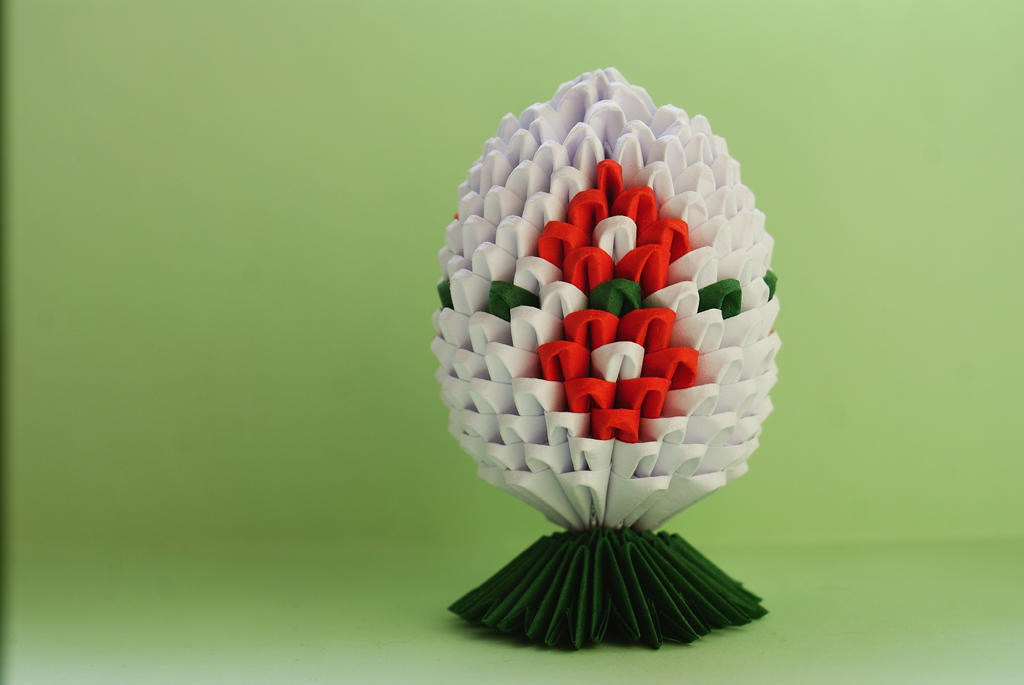 Origami Easter egg by memysandi
