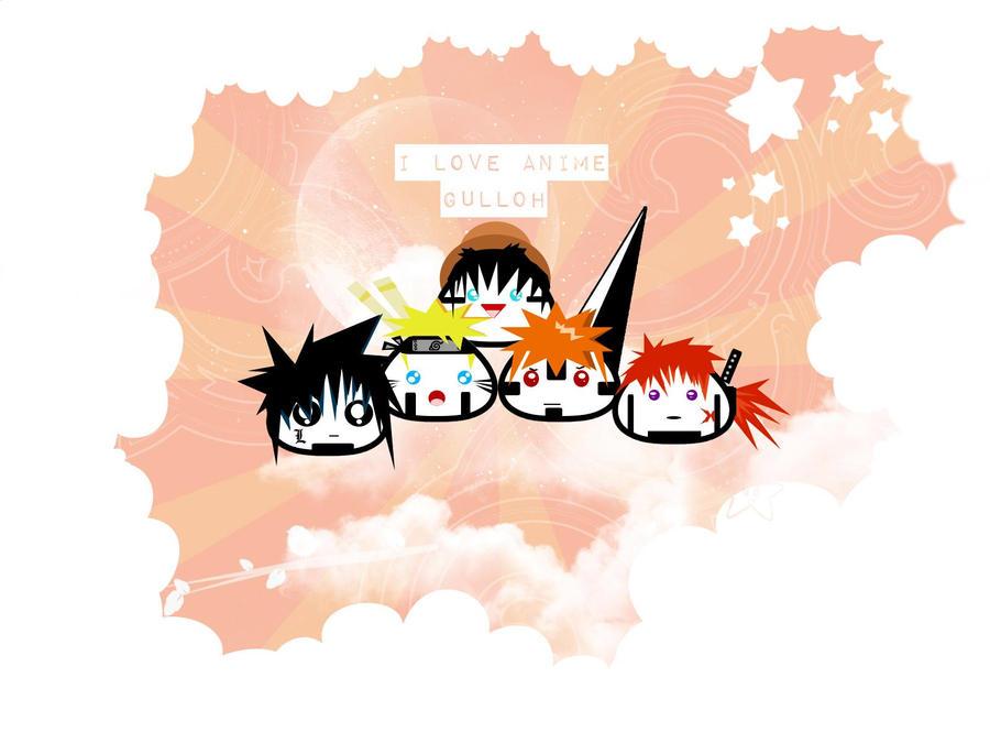 Anime Love by Lazy-SamuraiShinobi