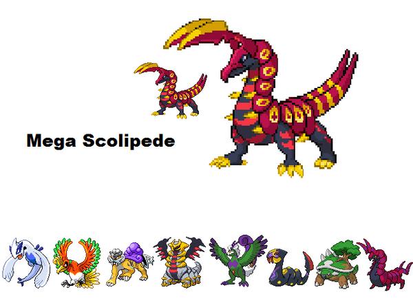 Pokemon Mega Scolipede Images | Pokemon Images