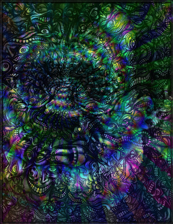 FacePage - Terence McKenna by FreemanDan