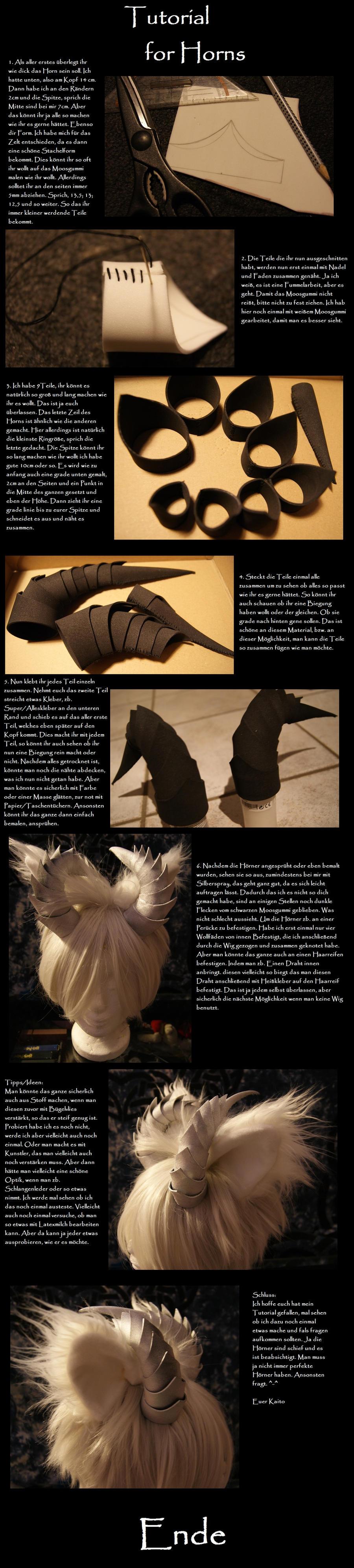 Tutorial for Horns by DevilKaito on DeviantArt
