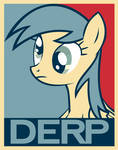 Derpy Hooves poster