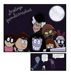 Shine on you Crazy Ghoul Page 5