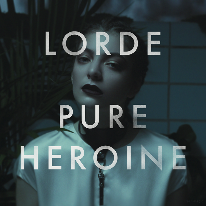 Lorde - Pure Heroine by other-covers on DeviantArt