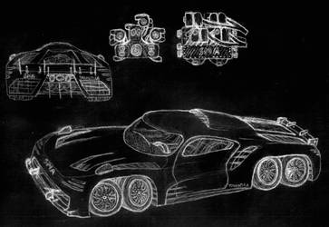 SMA Tarantula: Eight Wheels and Eighteen Cylinders by manaista