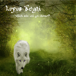 Lupus Regni - light wolf in meadow