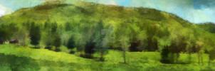 Southern Appalachian farm