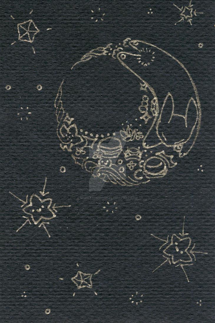 Moon Rabbit by SheilaSunshine