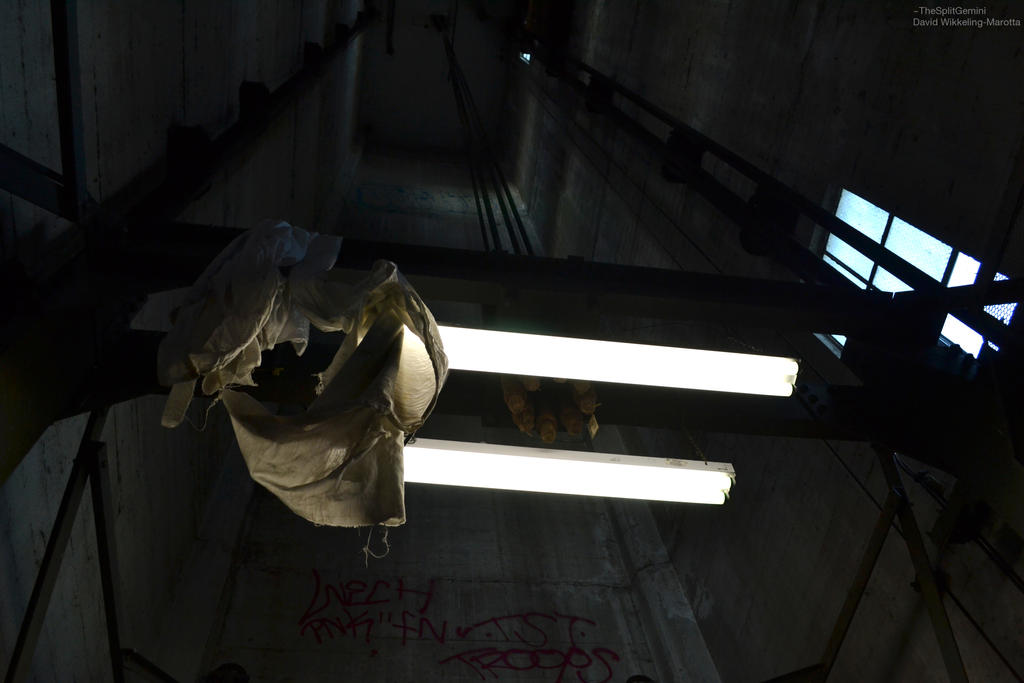 Dark Elevator Shaft by TheSplitGemini